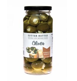 Sutter Buttes Stuffed- Parmesan Romano Olives, 10 oz