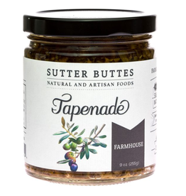Sutter Buttes Farmhouse Olive Tapenade, 9 oz