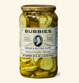 European Imports Bubbies Bread & Butter Pickles