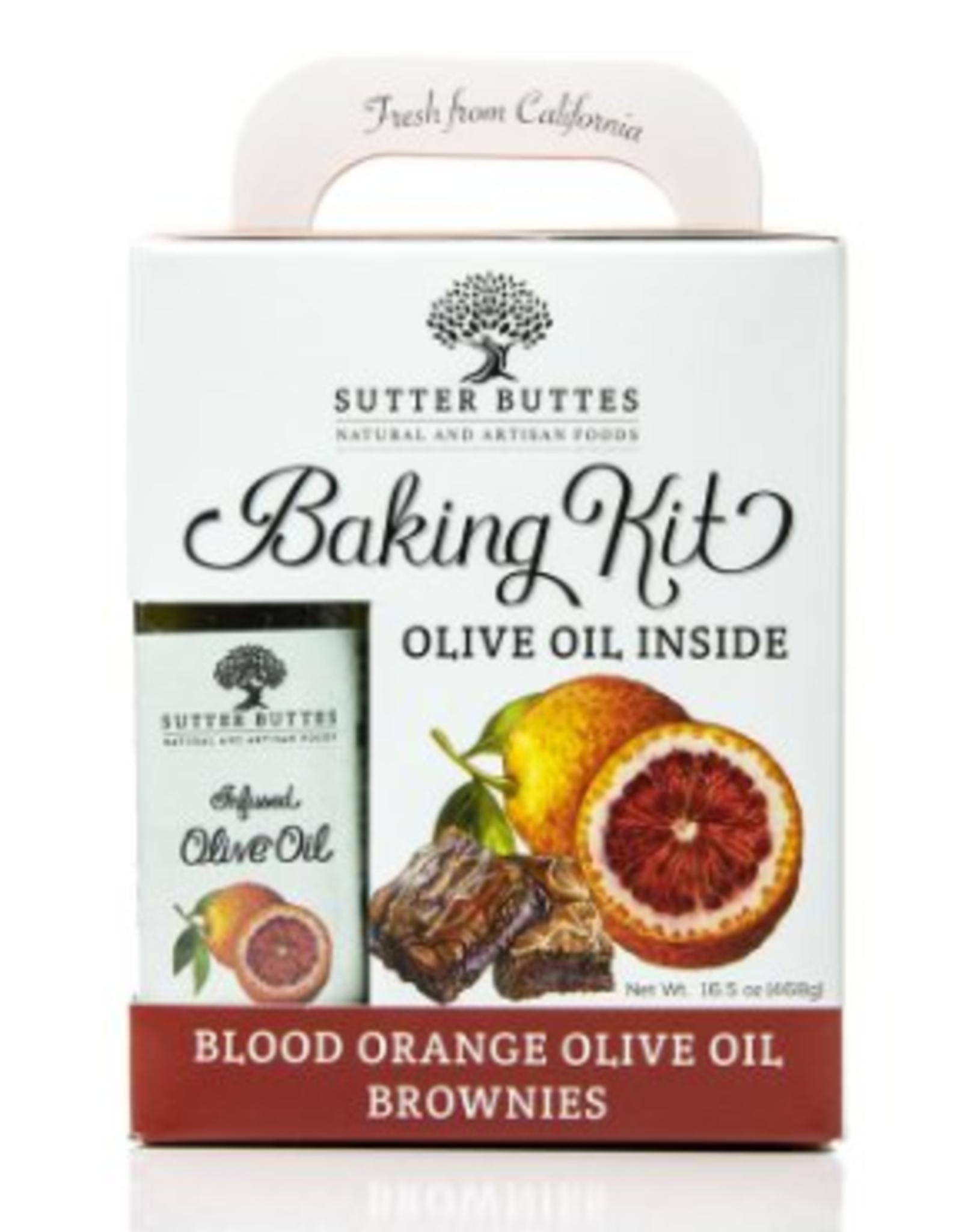 Sutter Buttes Blood Orange Brownie Baking Mix