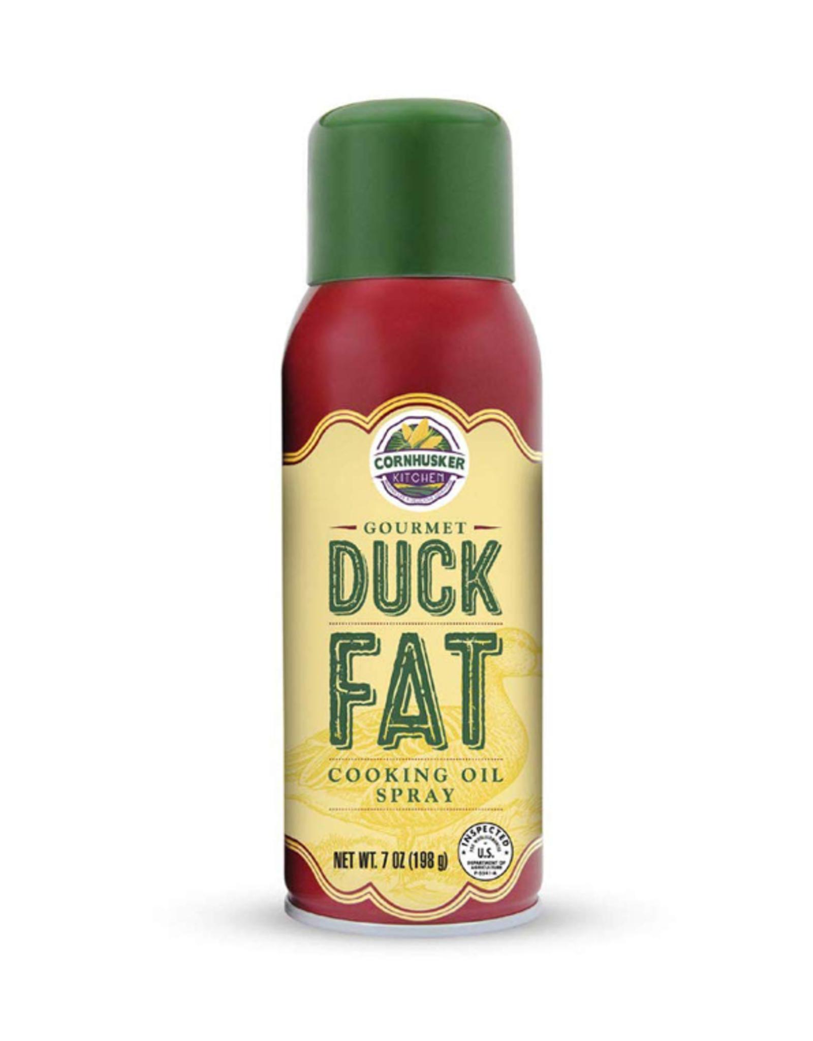 Cornhusker Kitchen Duck Fat Cooking Oil Spray, 7oz