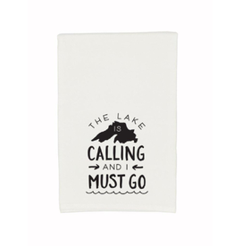 Gitch Gear Lake Superior Tea Towel, Calling