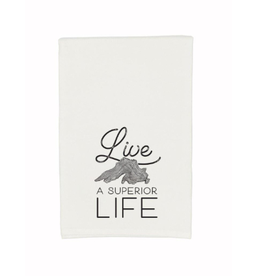 Gitch Gear Lake Superior Tea Towel, Live Superior