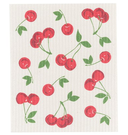 Now Designs S20 Swedish Dishcloth, Cherries