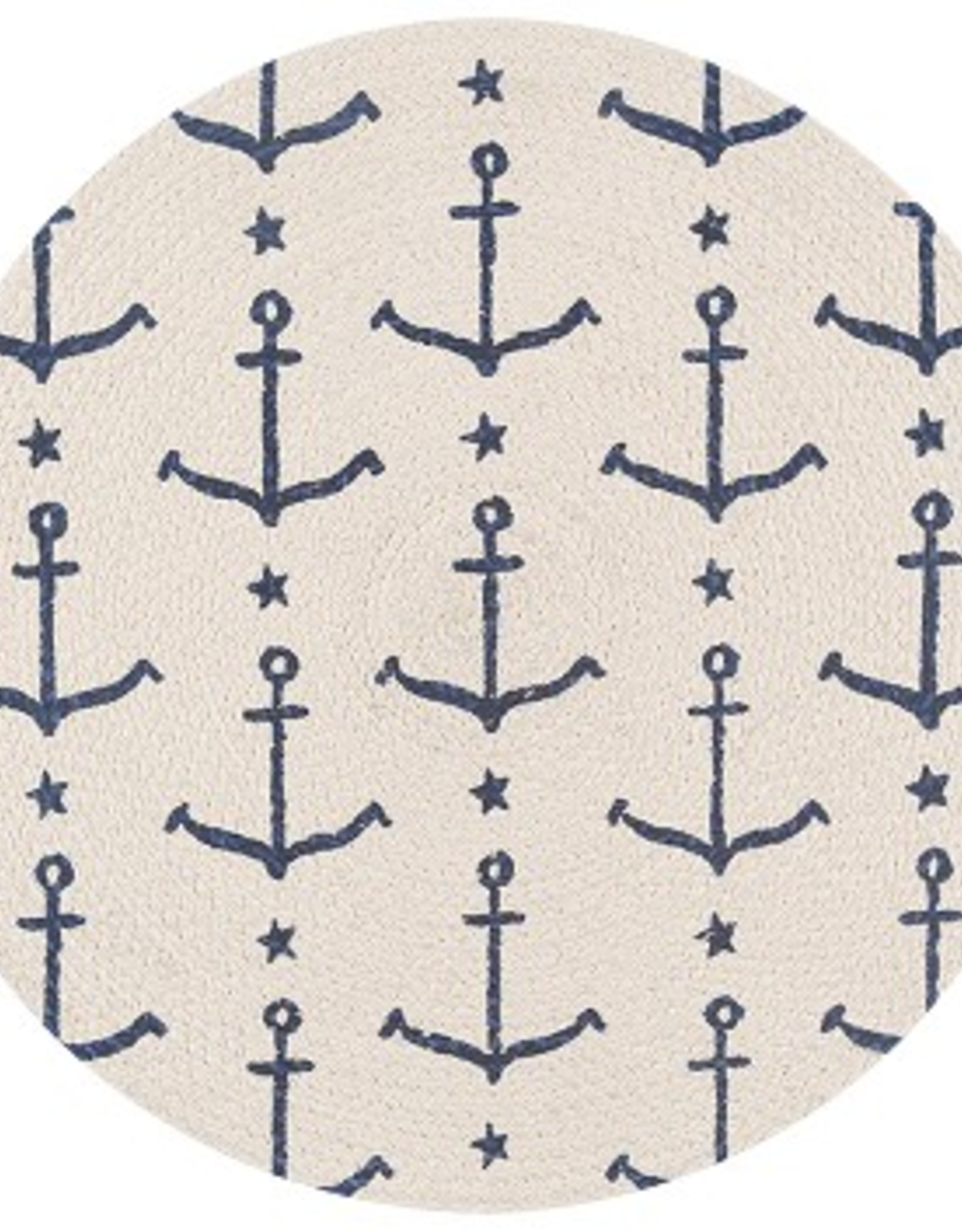 Now Designs S20 Braided Placemat, Ahoy, Matey
