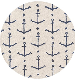Now Designs Braided Placemat, Ahoy, Matey