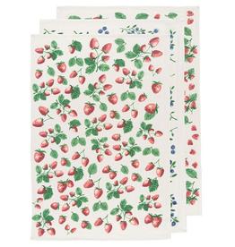 Now Designs Floursack Dishtowel Set3, Berry Patch
