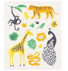 Now Designs S19 Swedish Dishcloth, Wild Bunch