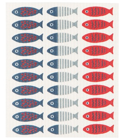 Now Designs Swedish Dishcloth, Little Fish