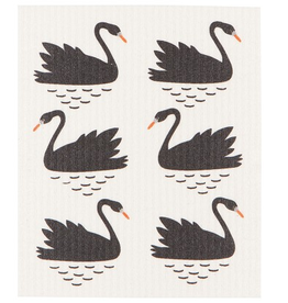 Now Designs S19 Swedish Dishcloth, Swan Lake