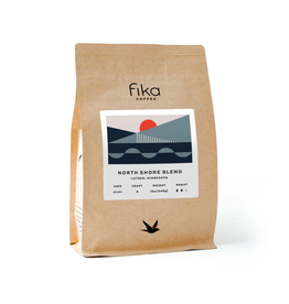 Fika Coffee Fika North Shore Blend, 12 oz, Whole Bean