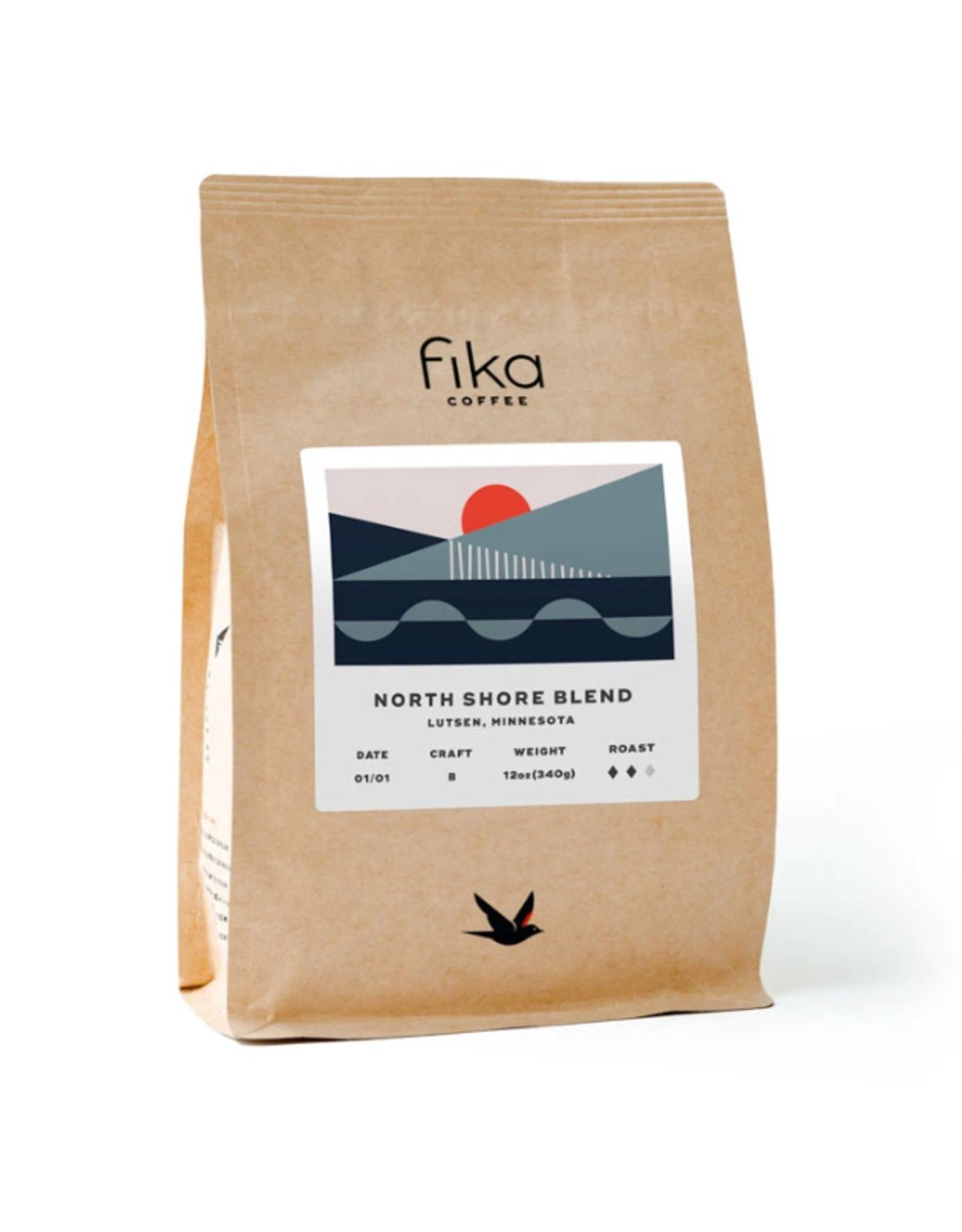 Fika Coffee Fika North Shore Blend, 12 oz, Whole Bean