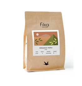 Fika Coffee Fika Organic Peru, 12 oz, Whole Bean