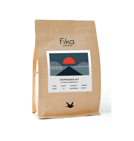 Fika Coffee Fika Espresso 61, 12 oz, Whole Bean