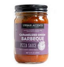 Urban Accents Pizza Sauce, Carmelized Onion BBQ