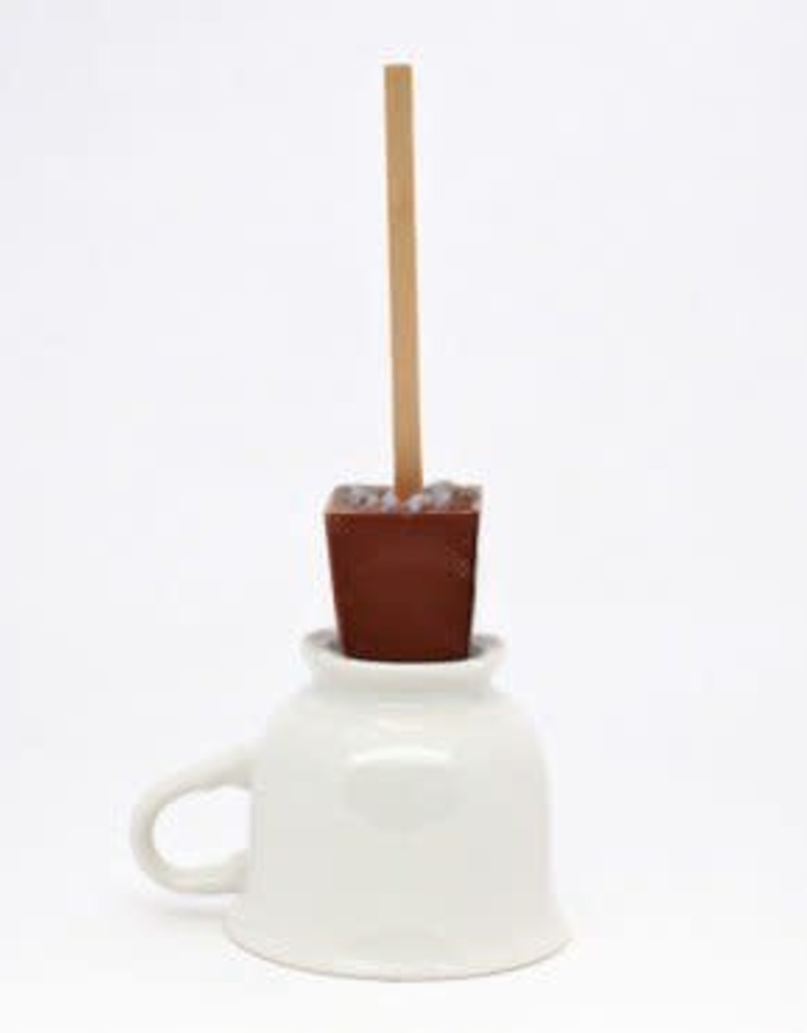 Ticket Chocolate Hot Chocolate on a Stick, Salted Caramel