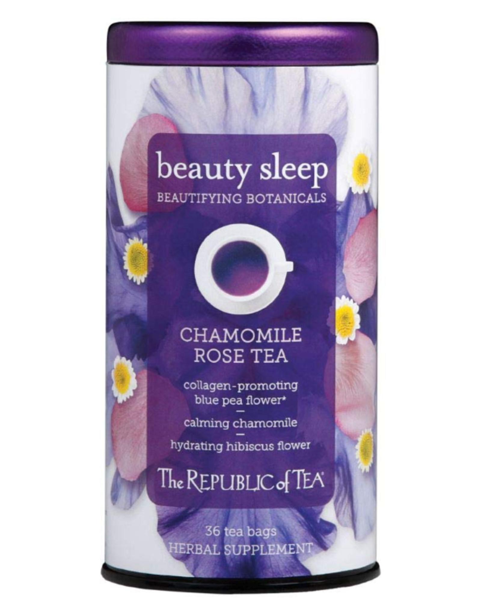 The Republic of Tea Beauty Sleep Tea 36 Bag Tin