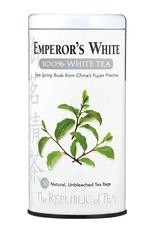 The Republic of Tea Emperor's 100% White Tea, 50 Bag Tin