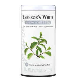 The Republic of Tea Emperor's 100% White Tea, 50 Bag Tin