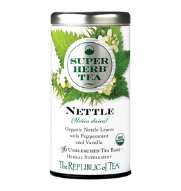 The Republic of Tea Nettle Tea, 36 Bag Tin