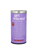 The Republic of Tea Get Relaxed No. 14 Red Tea, 36 Bag Tin