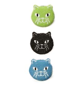 Kikkerland Cat Sponges, Set 3