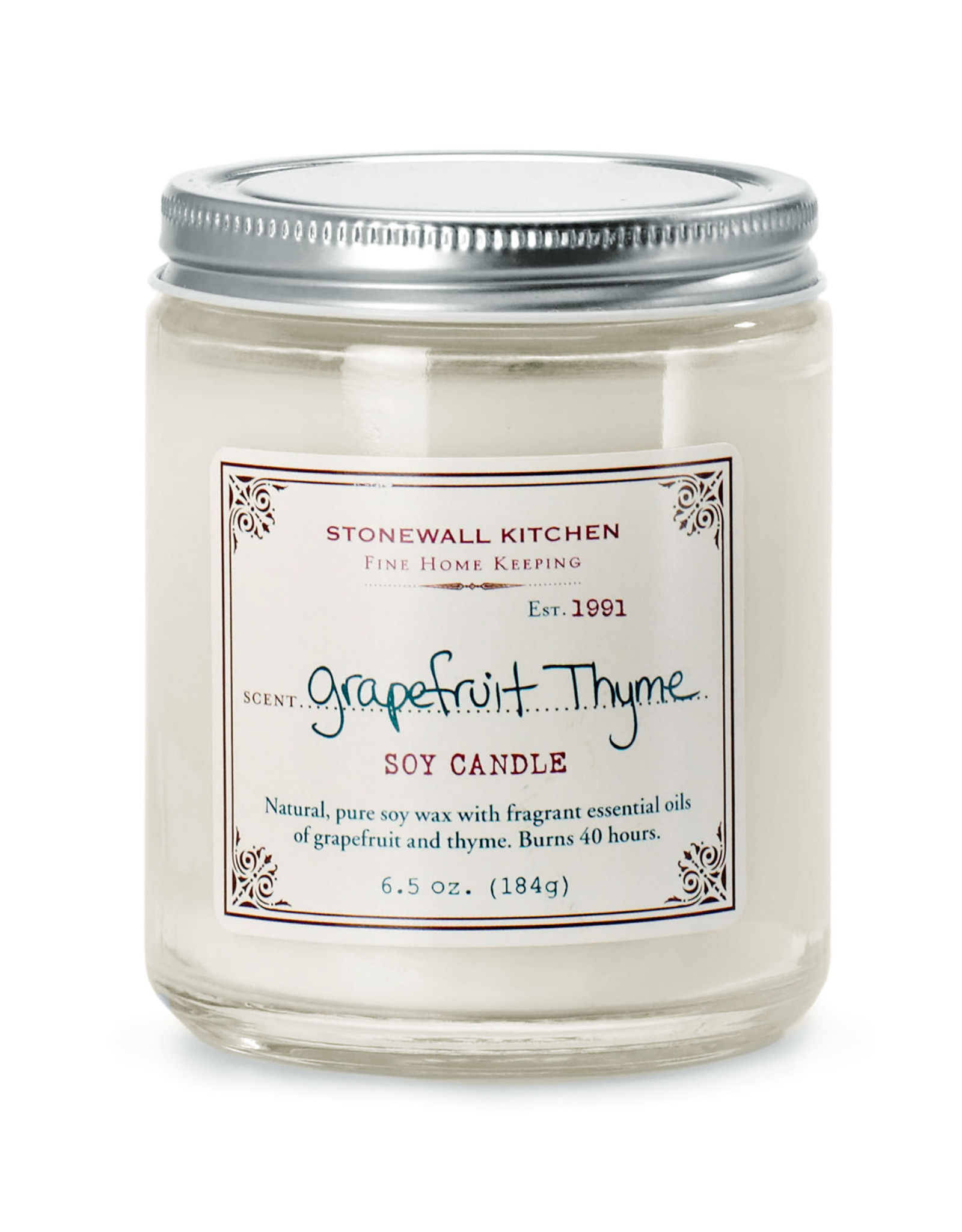 Stonewall Kitchen Grapefruit Thyme Candle