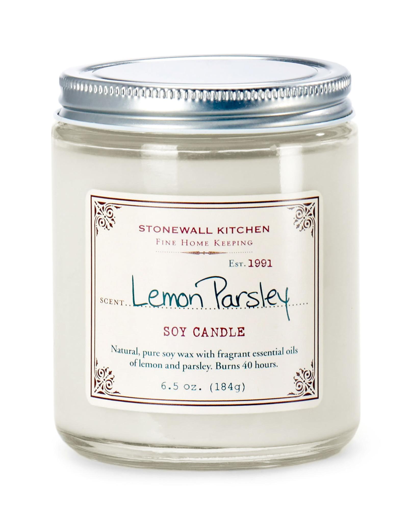 Stonewall Kitchen Lemon Parsley Candle