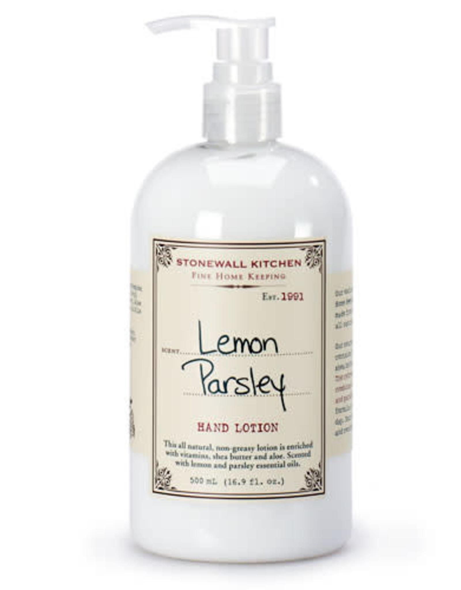 Stonewall Kitchen Lemon Parsley Hand Lotion