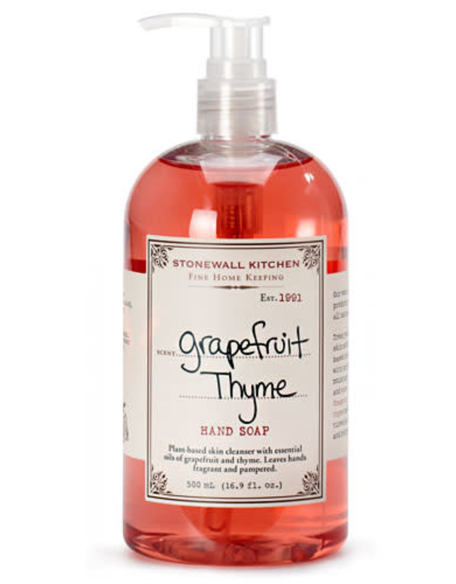 Stonewall Kitchen Grapefruit Thyme Hand Soap