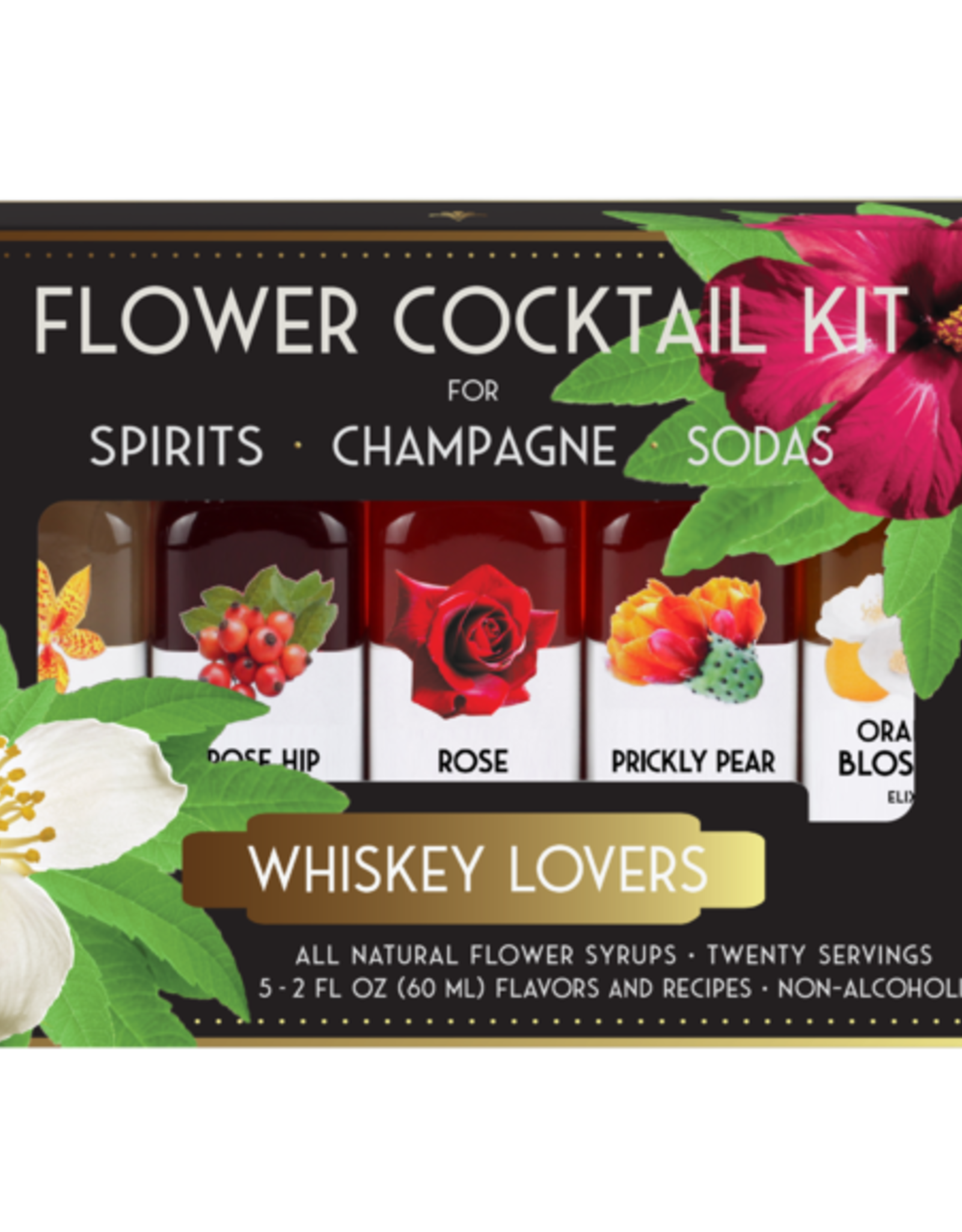 Floral Elixir Company Whiskey Lovers Cocktail Kit