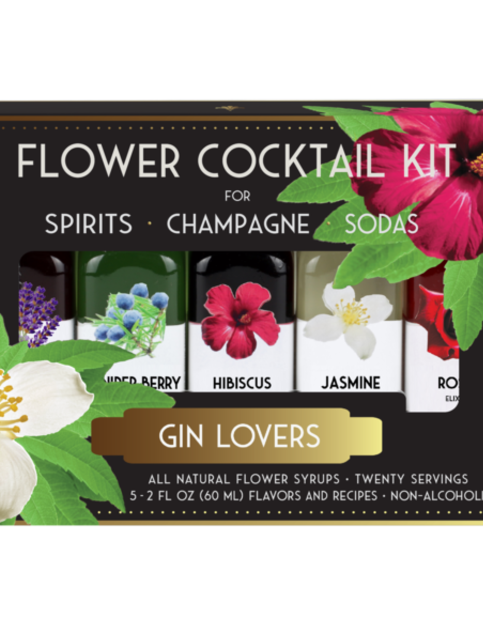 Floral Elixir Company Gin Lovers Cocktail Kit