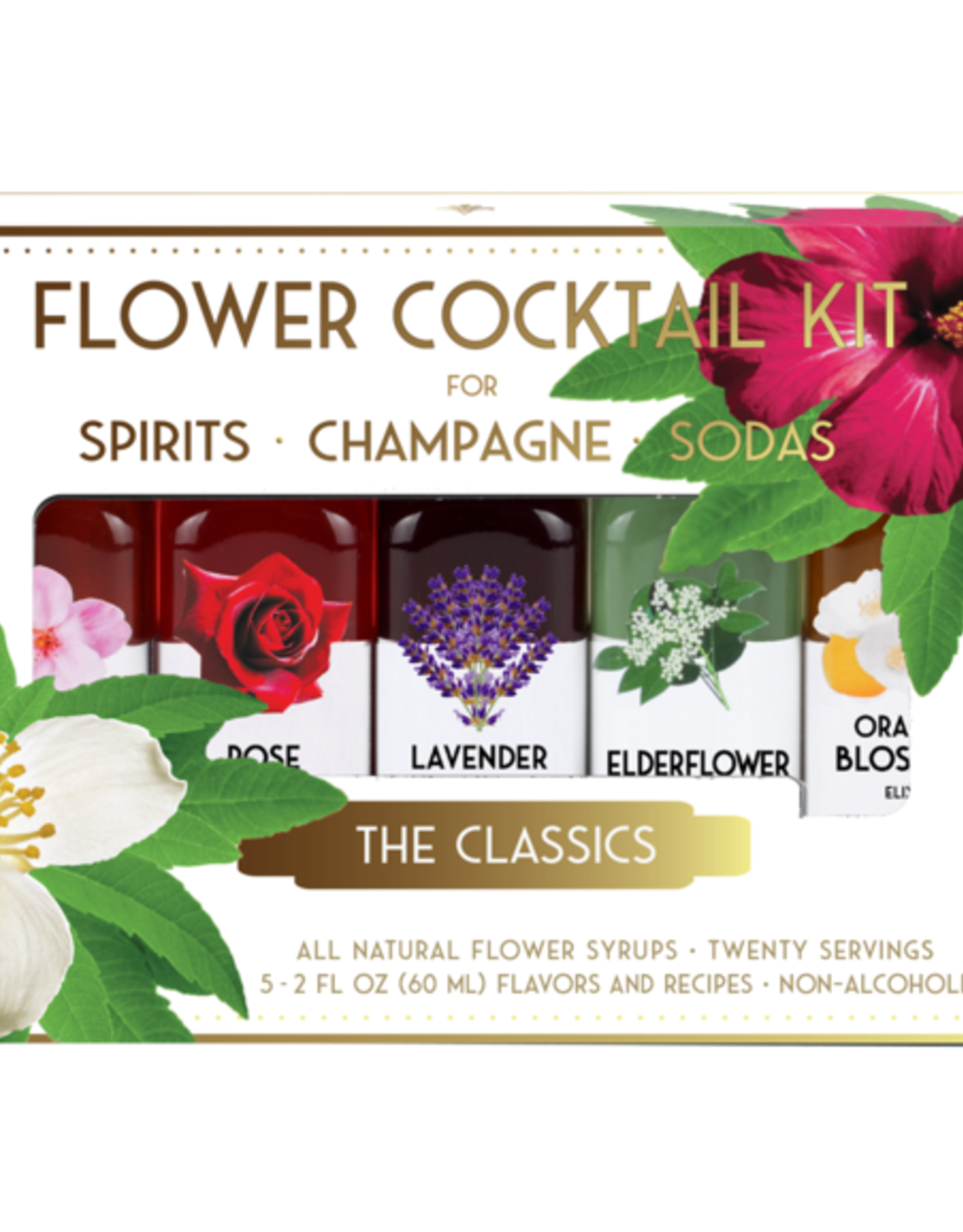 Floral Elixir Company Classic Cocktail Kit