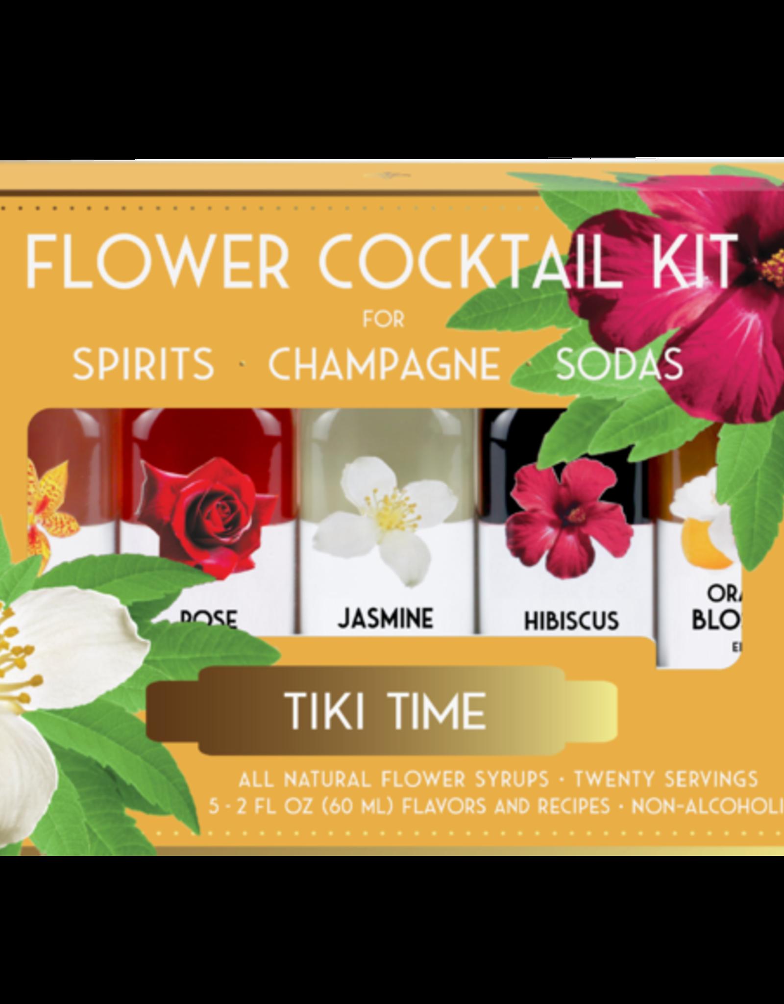 Floral Elixir Company Tiki Lounge Cocktail Kit
