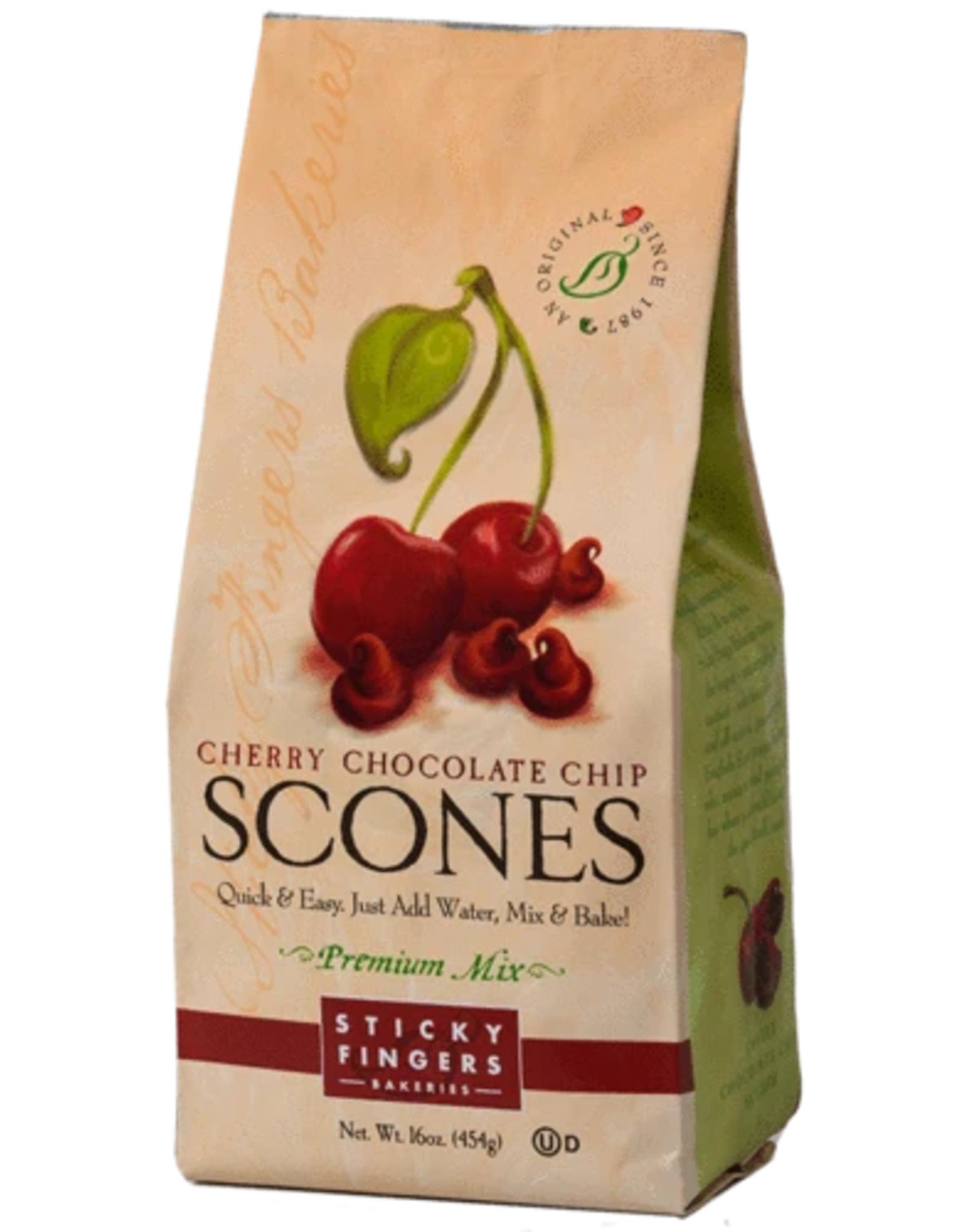 Sticky Fingers Scone, Cherry Chocolate Chip