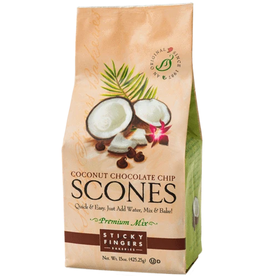 Sticky Fingers Scone, Toasted Coconut Chocolate Chip