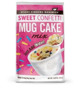 Sticky Fingers Mug Cakes, Sweet Confetti