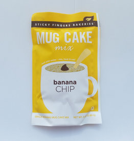 Sticky Fingers Mug Cakes, Banana Chip