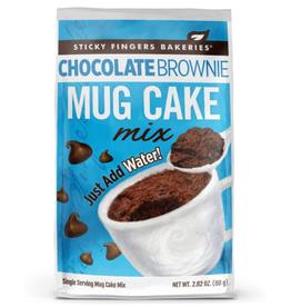 Sticky Fingers Mug Cakes, Chocolate Brownie