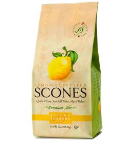 Sticky Fingers Scone, Lemon Poppyseed