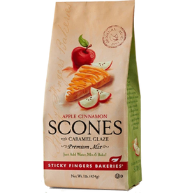 Sticky Fingers Scone, Caramel Apple Scone