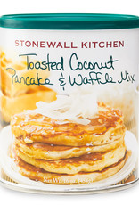 Stonewall Kitchen Toasted Coconut Pancake & Waffle Mix, 16 oz Can
