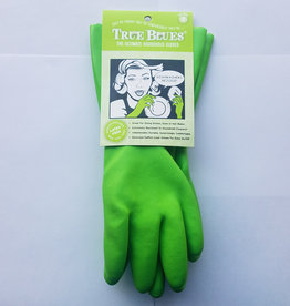 Star Kitchen and Home Rubber Gloves, Green