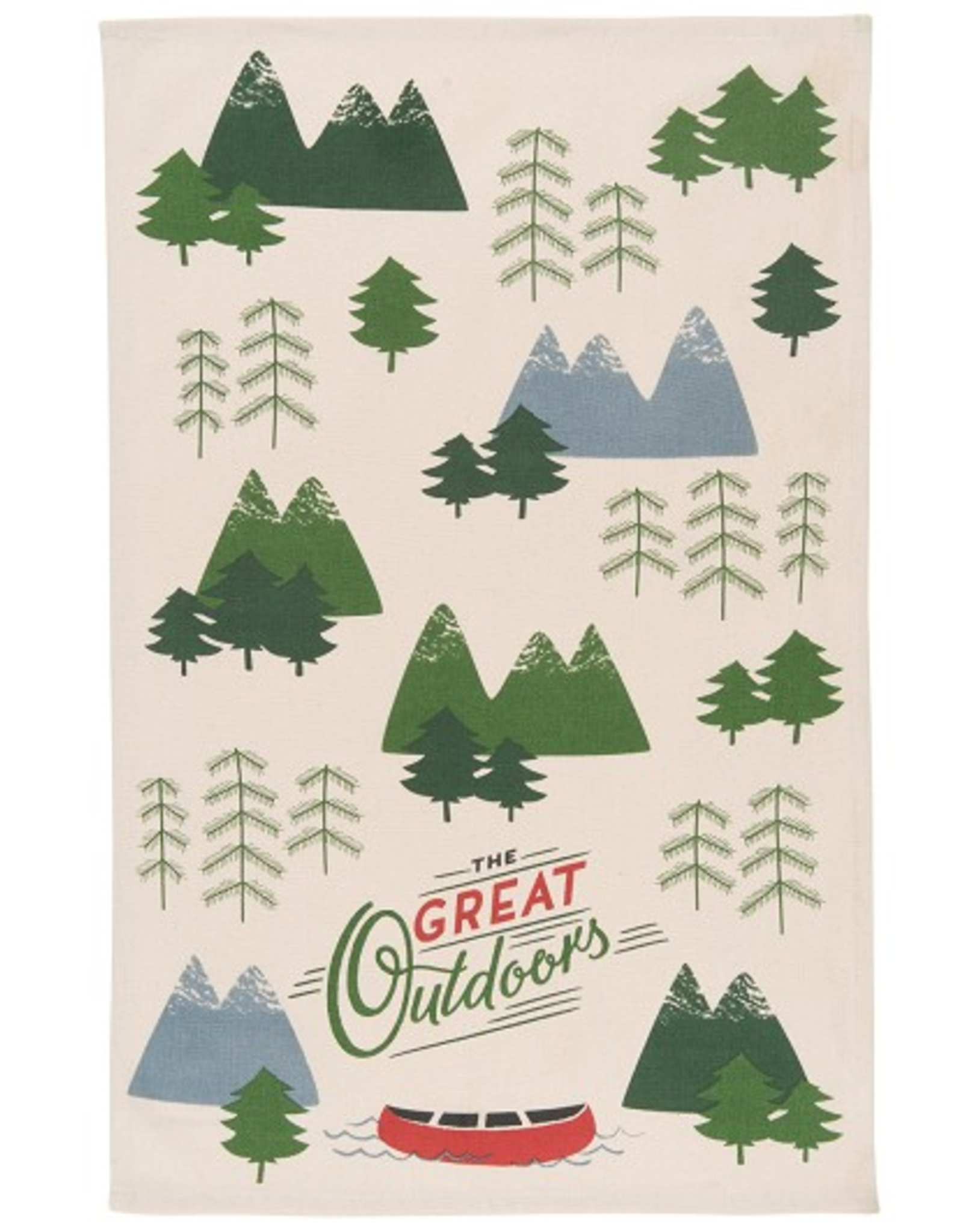 Now Designs Dishtowel, The Great Outdoors, Summer