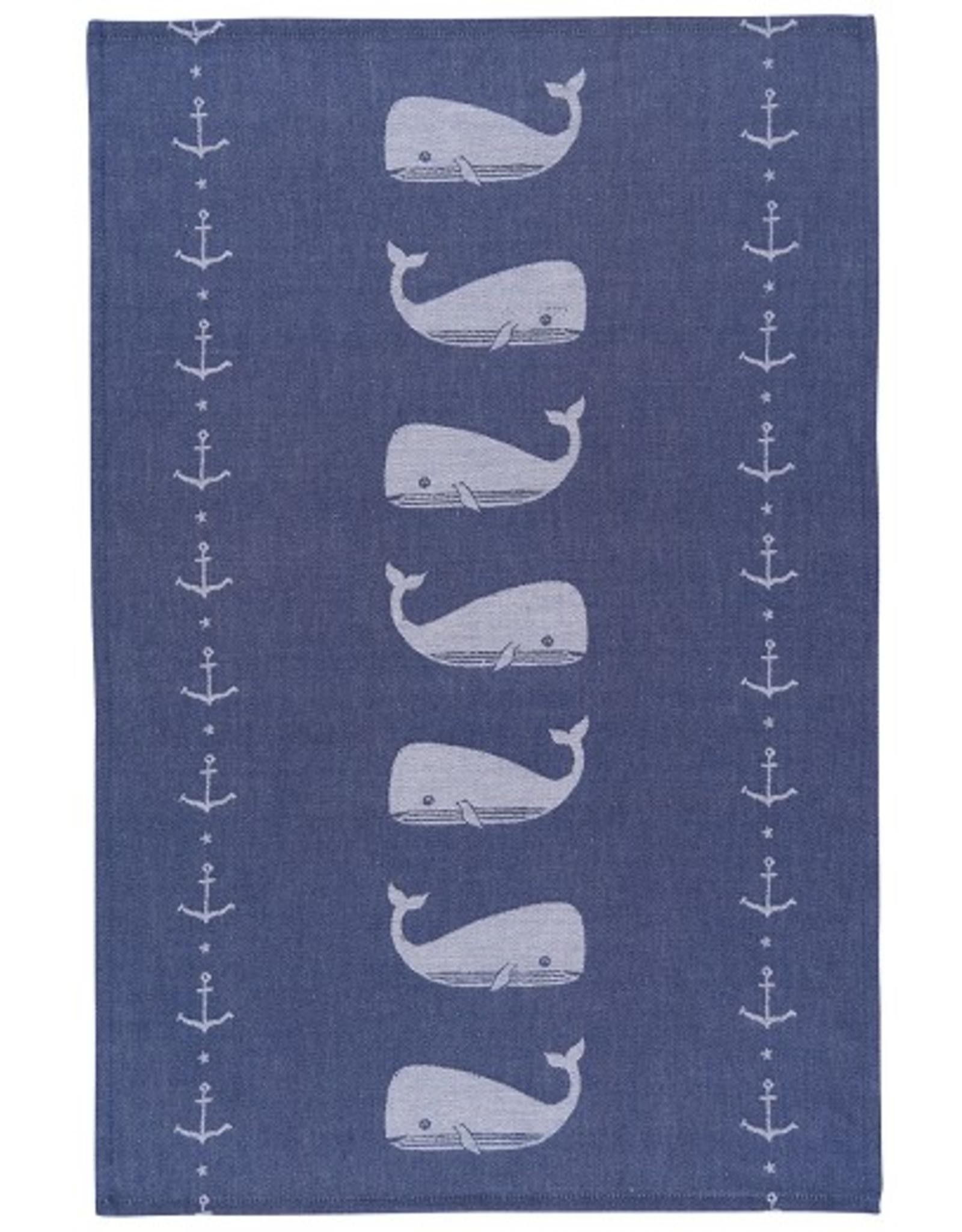 Now Designs S20 Jacquard Dishtowel, Ahoy Matey