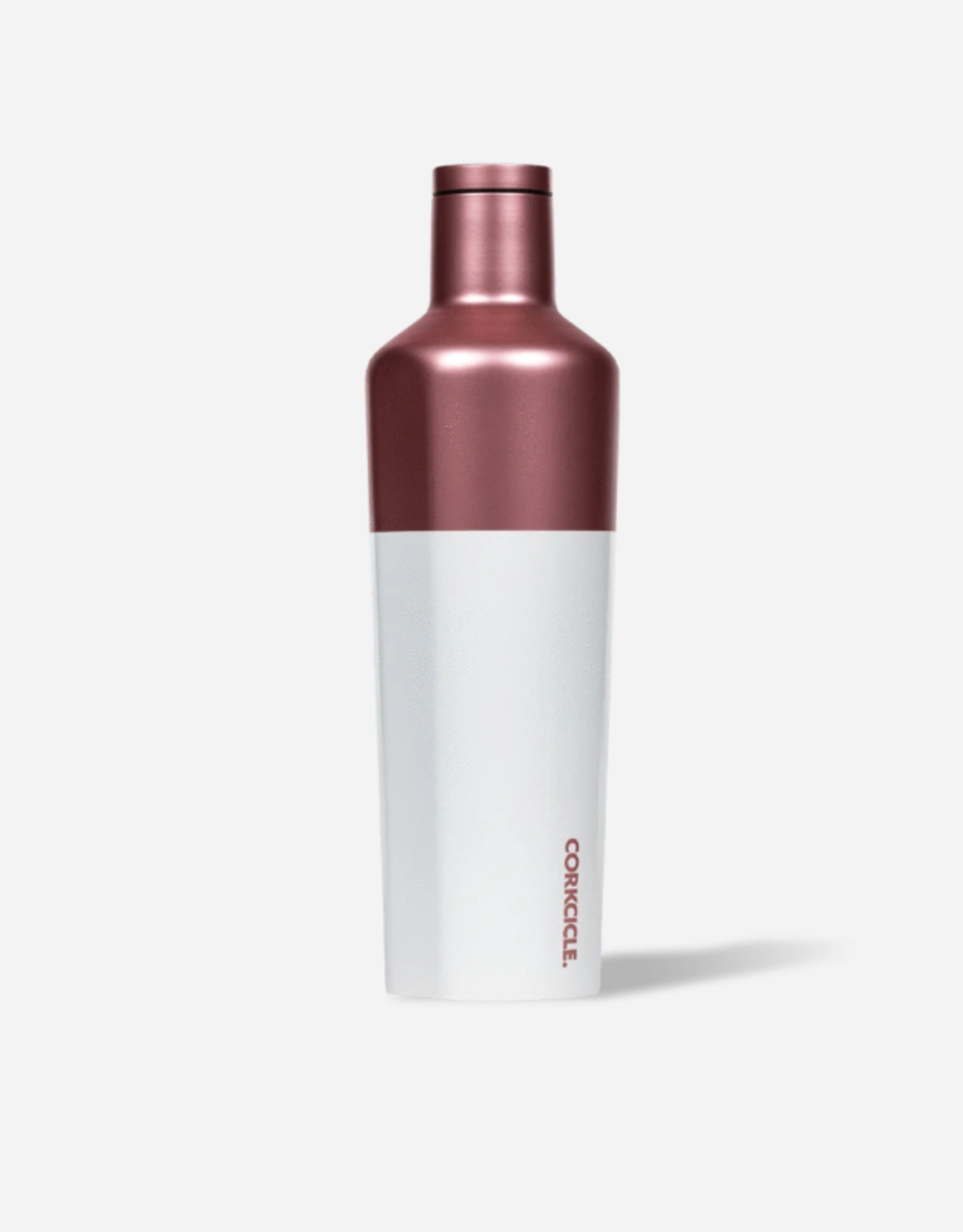 Corkcicle Corkcicle Canteen 25oz Rose/White Modern