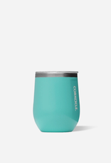 Corkcicle Corkcicle Stemless 12oz, Turquoise