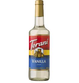 Coffee Masters Torani Syrup, Vanilla 750ml