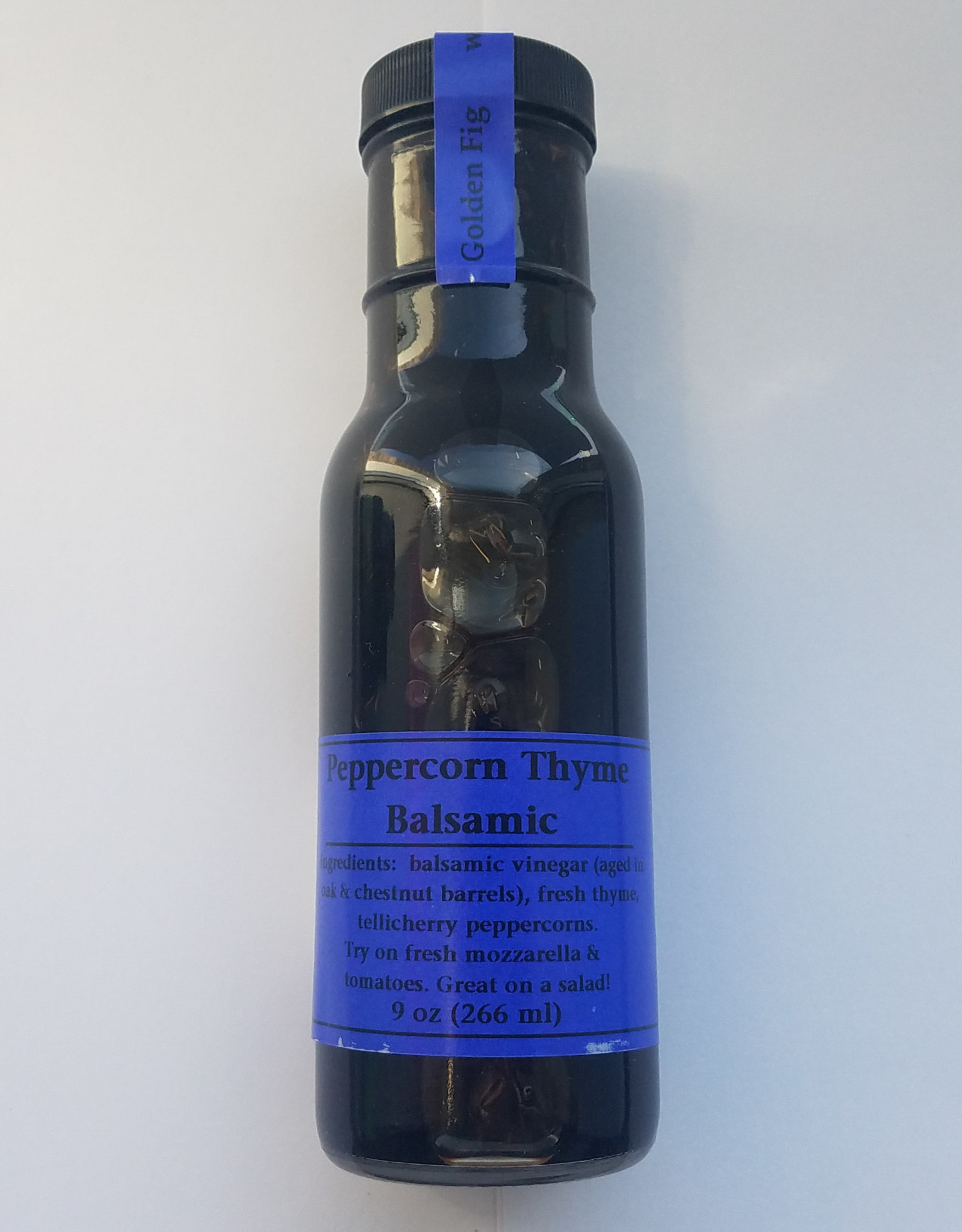 Golden Fig Peppercorn Thyme Balsamic Vinegar