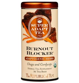 The Republic of Tea Burnout Blocker Tea 36 Bag Tin